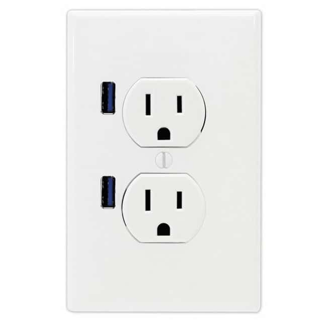 Quick-Charge Compact Triple USB, AC Power Adapter