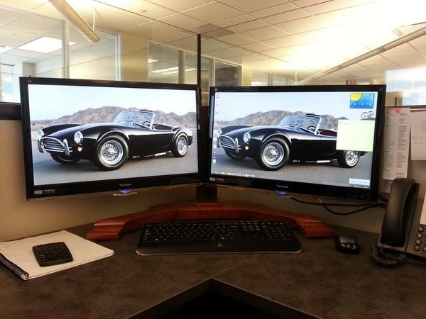 dual computer screen monitor stand 6