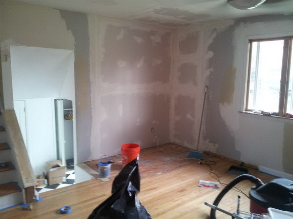 New drywall