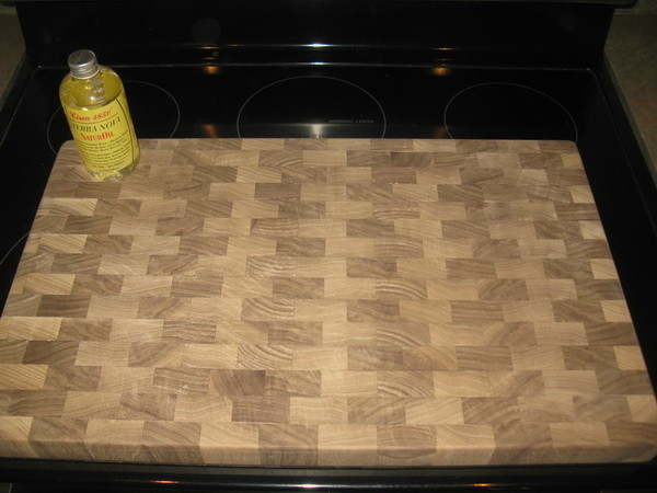 Custom Cutting Board All done and ready to oil