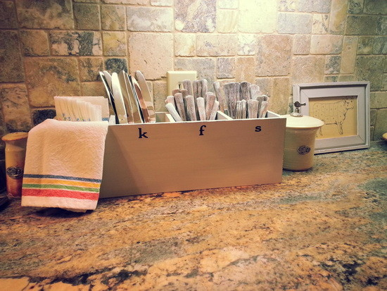 diy Custom Utensil Holder