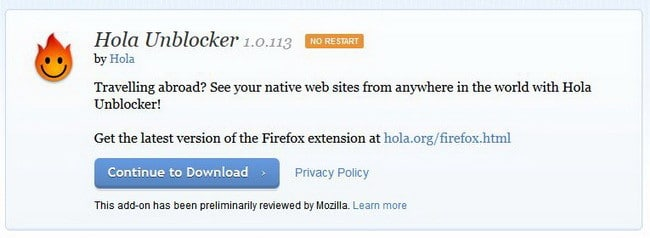 Hola Unblocker __ Add-ons for Firefox