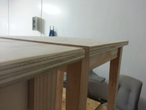 Rounded out the corners of the table