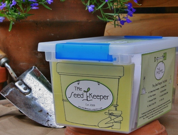 The Seed Keeper - A great way to protect, organize and keep your garden seeds in one spot!