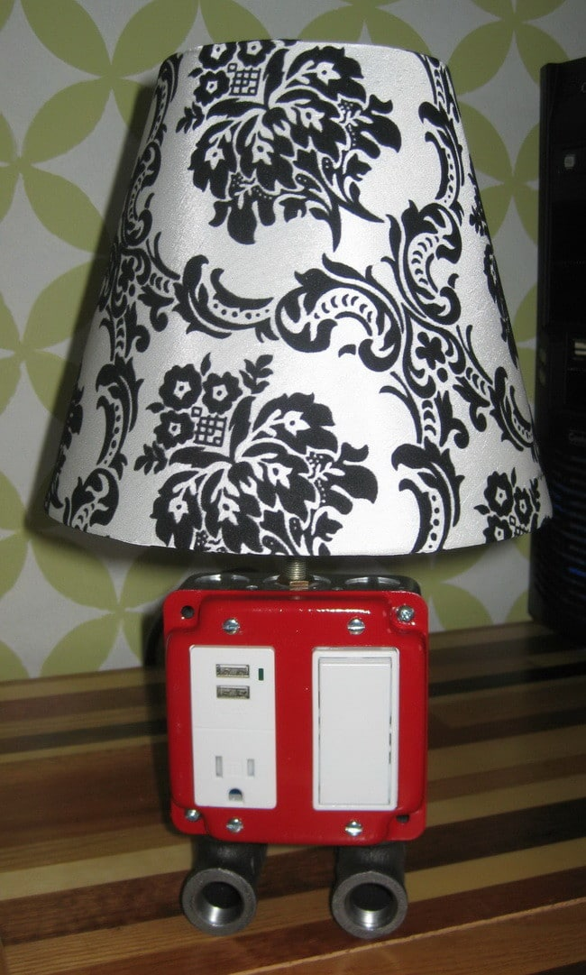 USB Outlet Lamp Combo_5