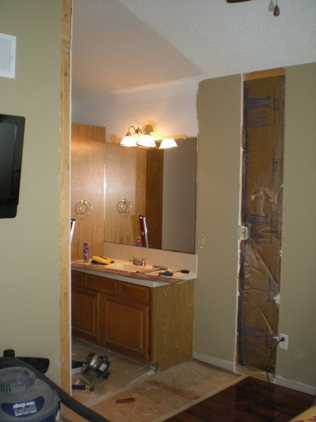 Step By Step Photos Of How To Add A New Door To An