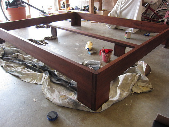 custom bed frame diy_11