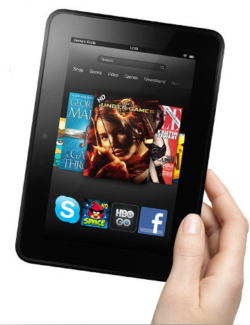 Charging you Kindle Fire HD