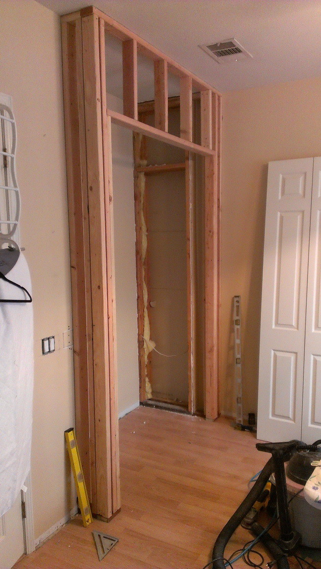 master bedroom closet build _2