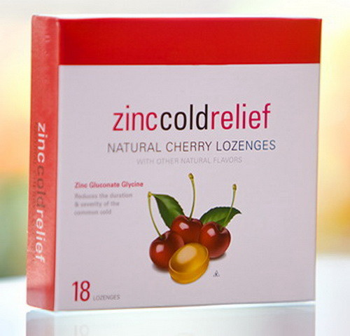 zinc lozenge for sore throat
