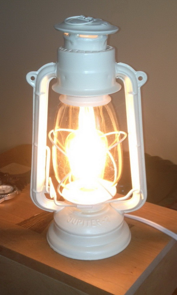 diy Lantern Light Lamp