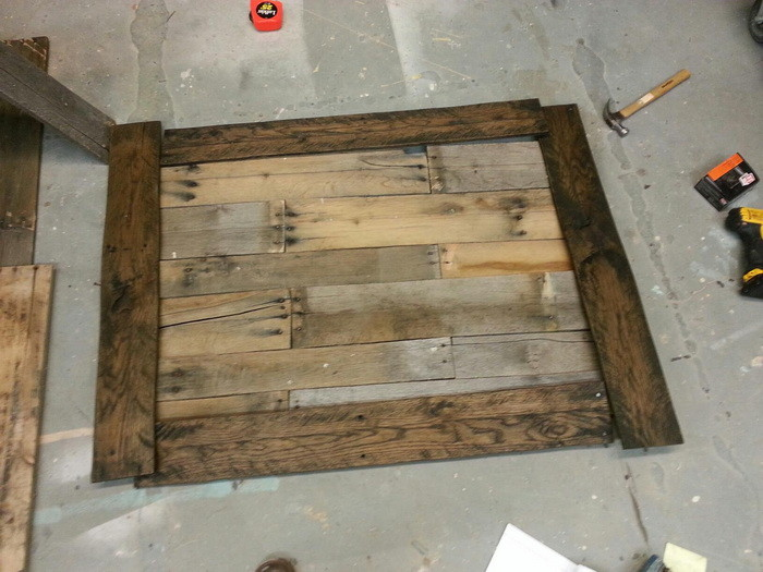... Feminist Mystique Diy Rustic Wood Coffee Table/farm Table, Creat