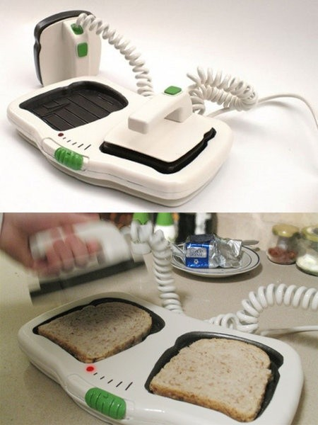 The Defibrillator Toaster