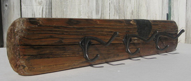 Driftwood Wall Mount Rack