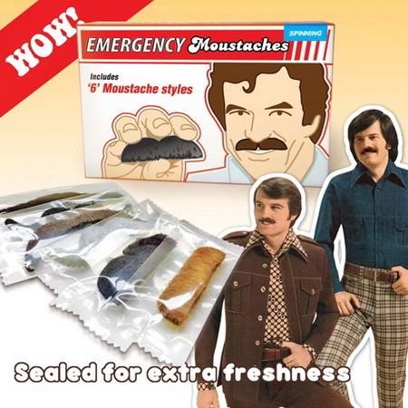 EMERGENCY MOUSTACHES KIT