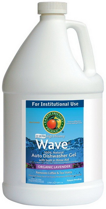 Gel Dishwasher Detergent with Rinse Aid