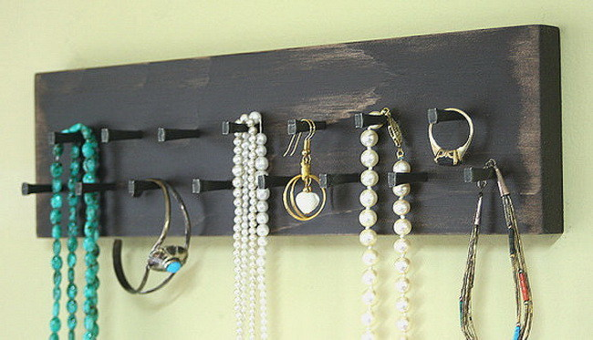 Jewelry Holder Organizer Storage Necklace Holder Key Rack
