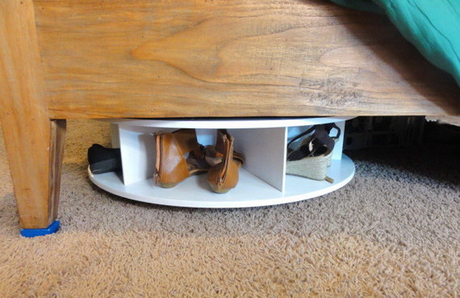 Lazy Under Bed shoes rack storage