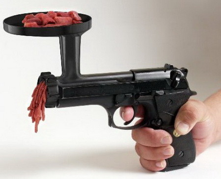 The Meat Grinder Gun
