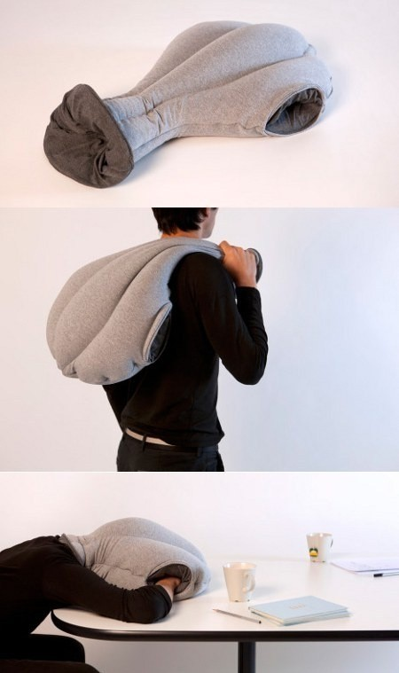 The Ostrich Wearable Pillow for Napping at Work