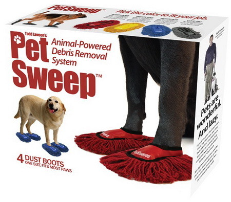 Pet Sweep - Let Your Doggy Do The Cleaning