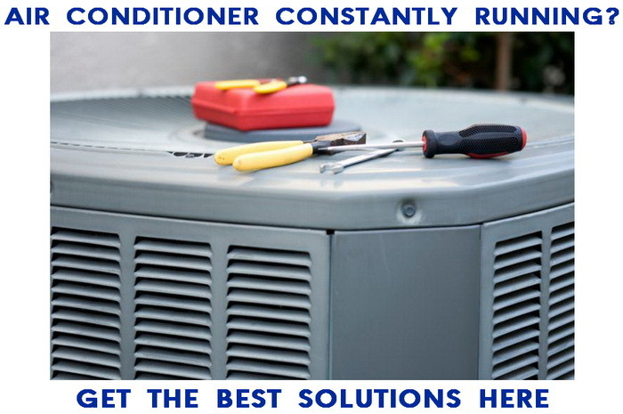 How to fix an AC that constantly keeps running