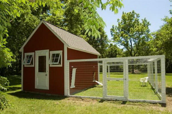 chicken coop house_07 - Chicken Coop Design Ideas