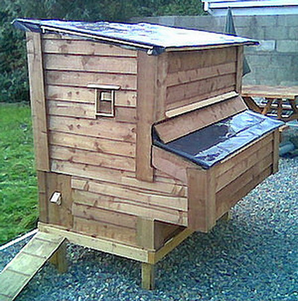 Chicken coop ideas designs and layouts for your backyard for How to build a chicken coop out of pallets