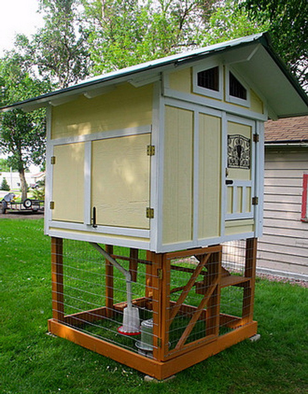 chicken coop house_58 - Chicken Coop Design Ideas