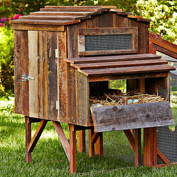 chicken coop house_65 - Chicken Coop Design Ideas