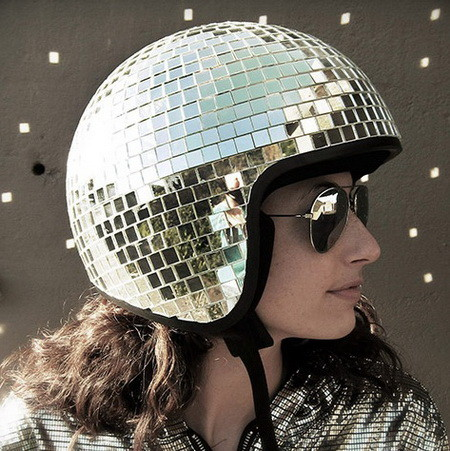 The Disco Ball Helmet