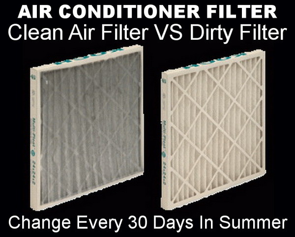 How often to change air filter for ac unit