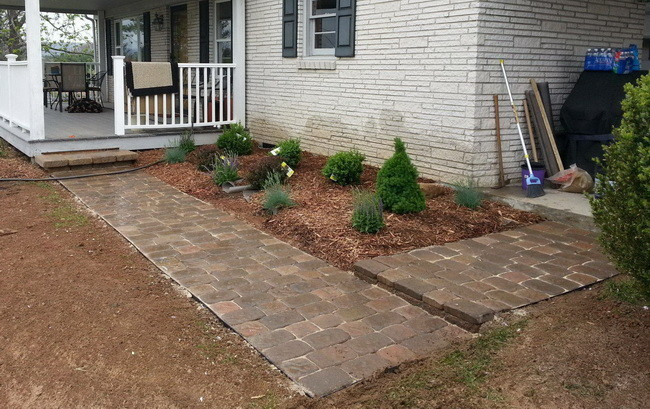 how to build a front walkway_1