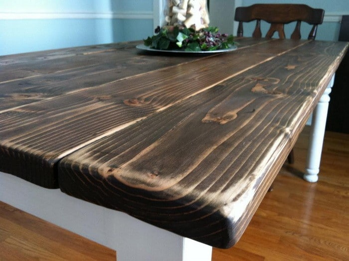 make a dining room table
