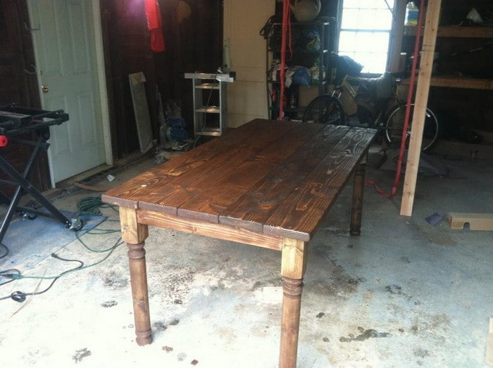 making a dining room table | How To Build A Vintage Style Dining Room Table Yourself ...