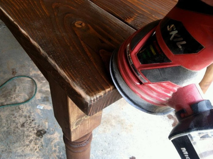 how to build a vintage dining room table_04
