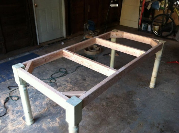 Dining Table Building Table Frame