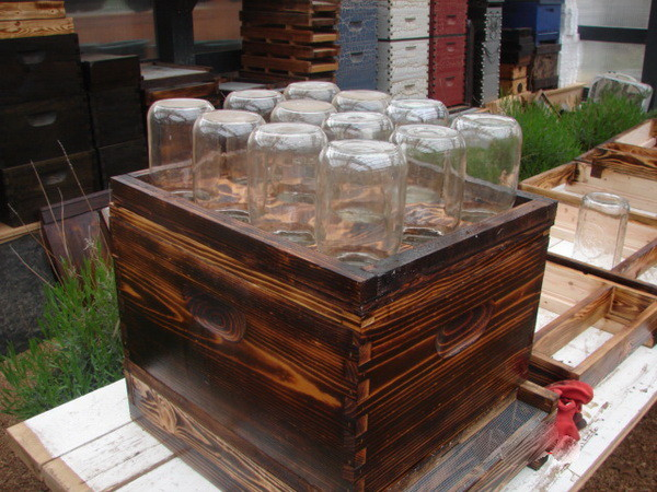 how to easily make a beehive in a jar diy_6