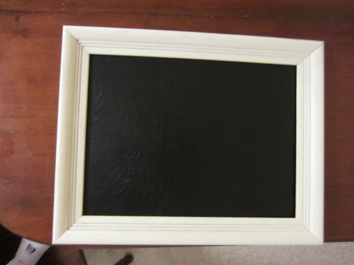 how to make a chalkboard out of wood_2