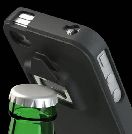 iPhone Case With Integrated Can and Bottle Opener