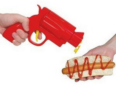 The Ketchup Gun