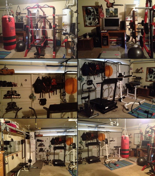 make your own gym from buying on craigslist