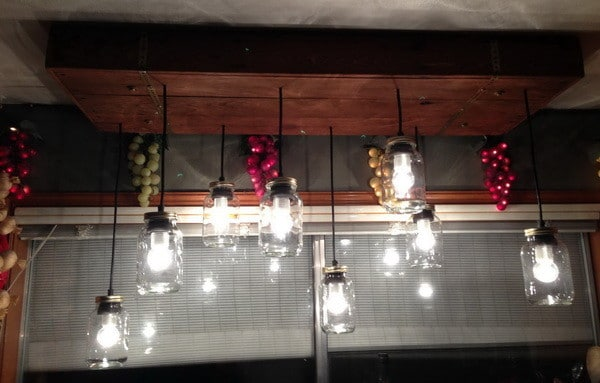 mason jar hanging ceiling lights