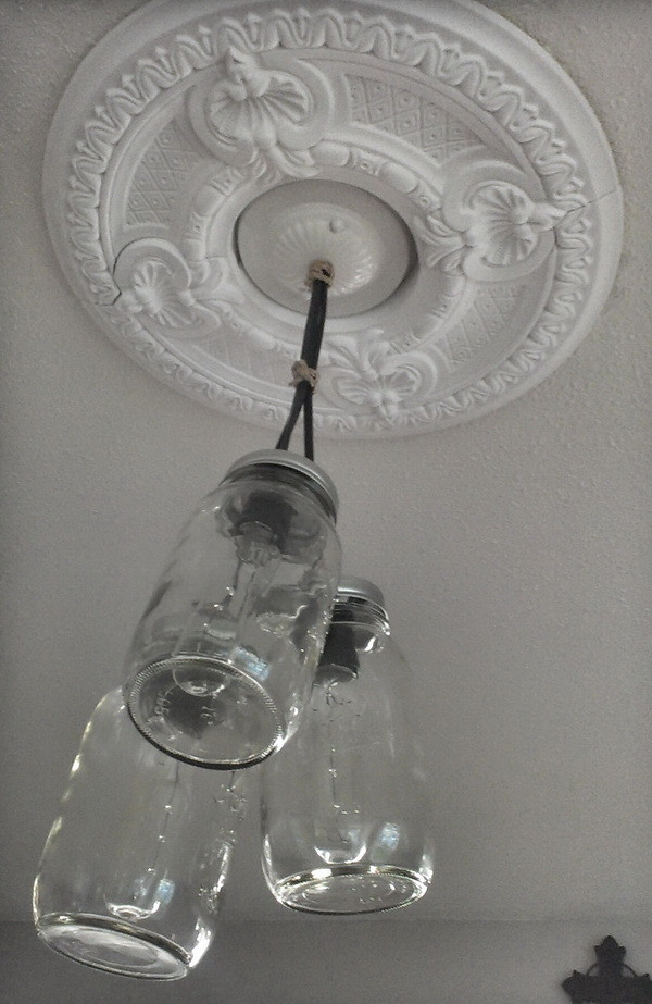mason jar pendant light fixture