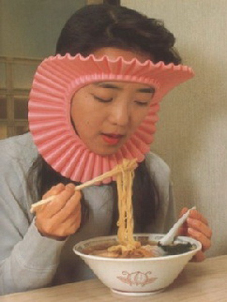 The Noodle Splash Face Guard Mask