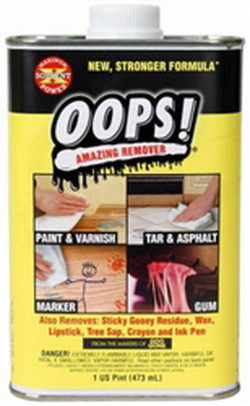 oops! paint remover