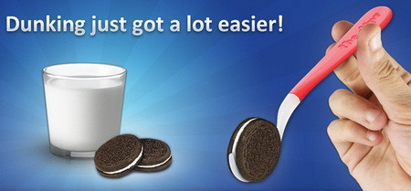 The Oreo Cookie Easy Dunking Spoon Tool
