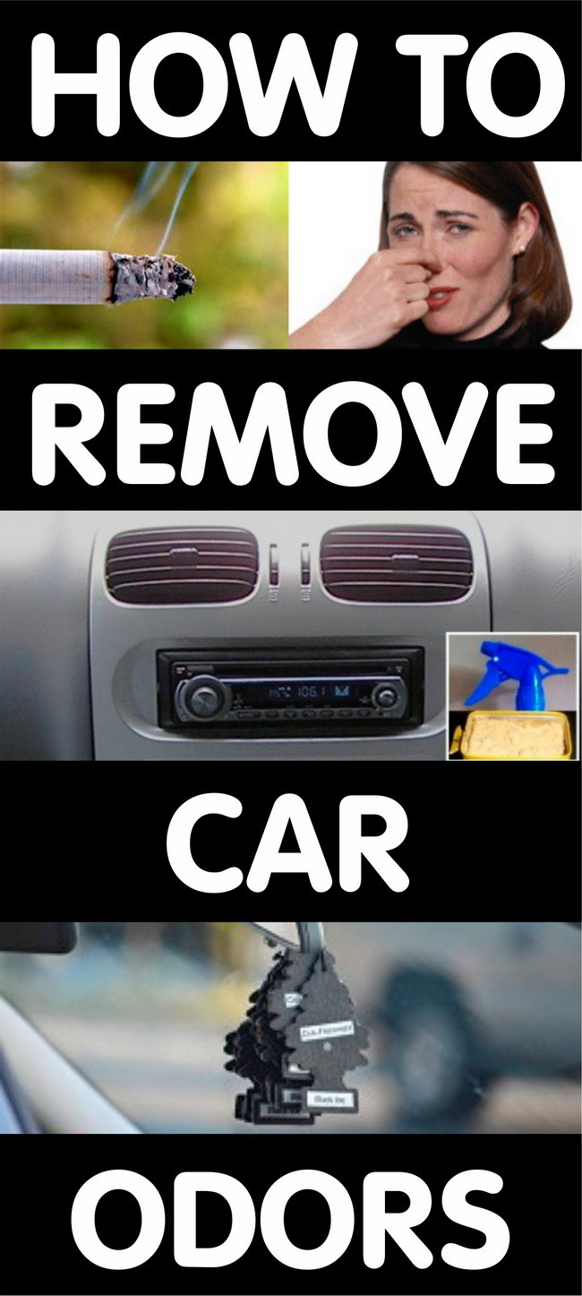 remove car smells from ac