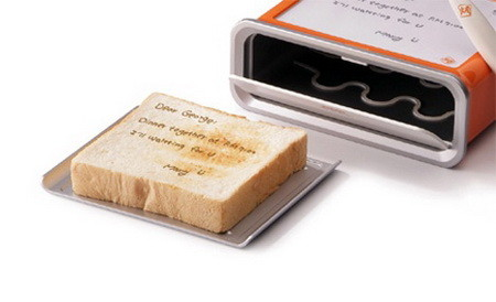 Toaster that Toasts your Handwritten Message