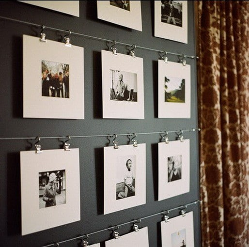 17 creative diy ways to display pictures on your walls